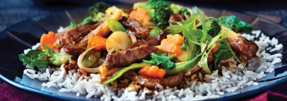 Sauté de Légumes et de Poulet Teriyaki